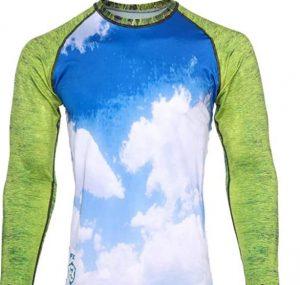 Women's premium BJJ Long sleeves Rash guards by pressure grappling