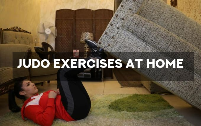 Judo exercises at home