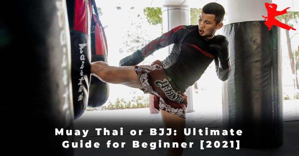 Muay Thai or BJJ Ultimate Guide for Beginner [2021]