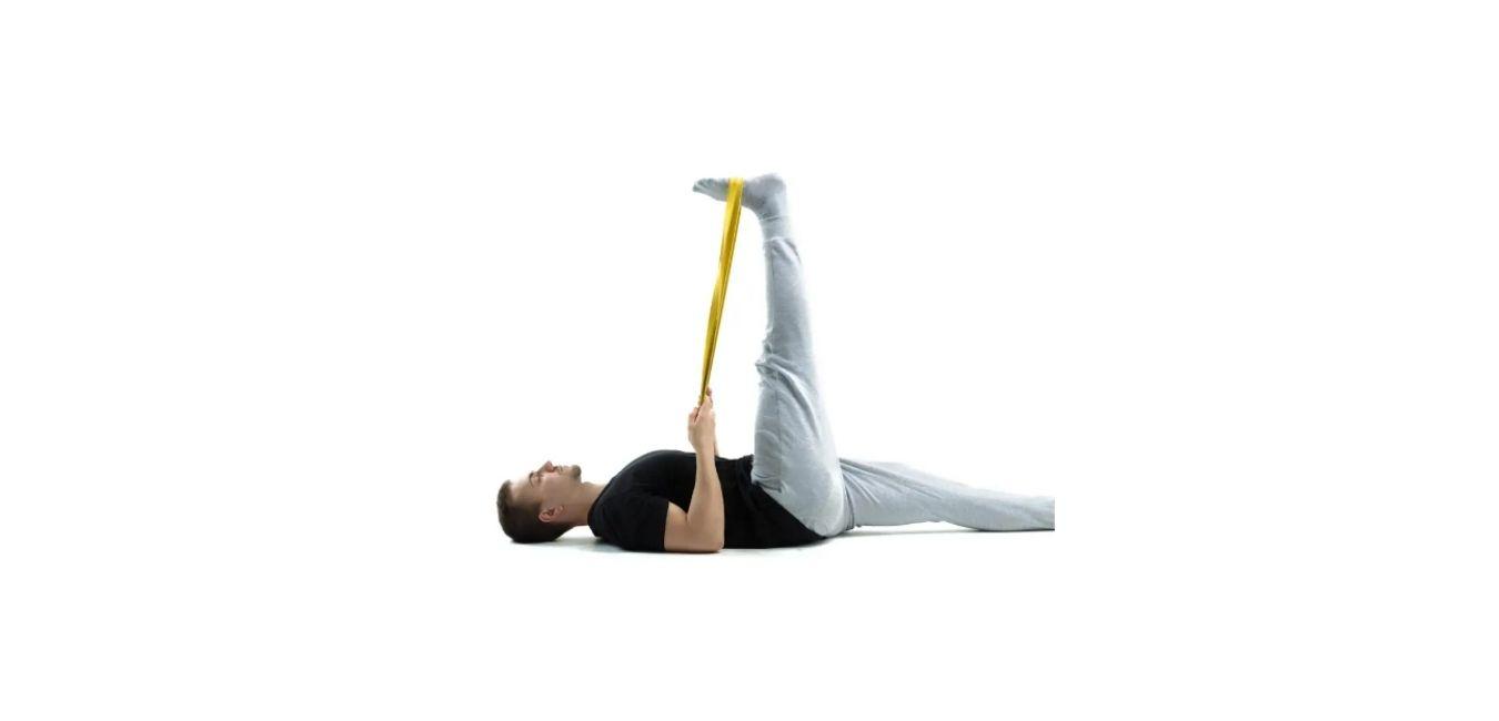 Lying Hamstring Stretch