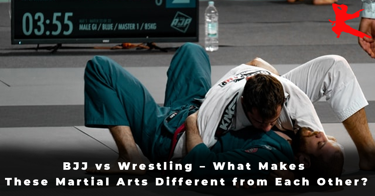 BJJ vs Wrestling – What Makes These Martial Arts Different from Each Other