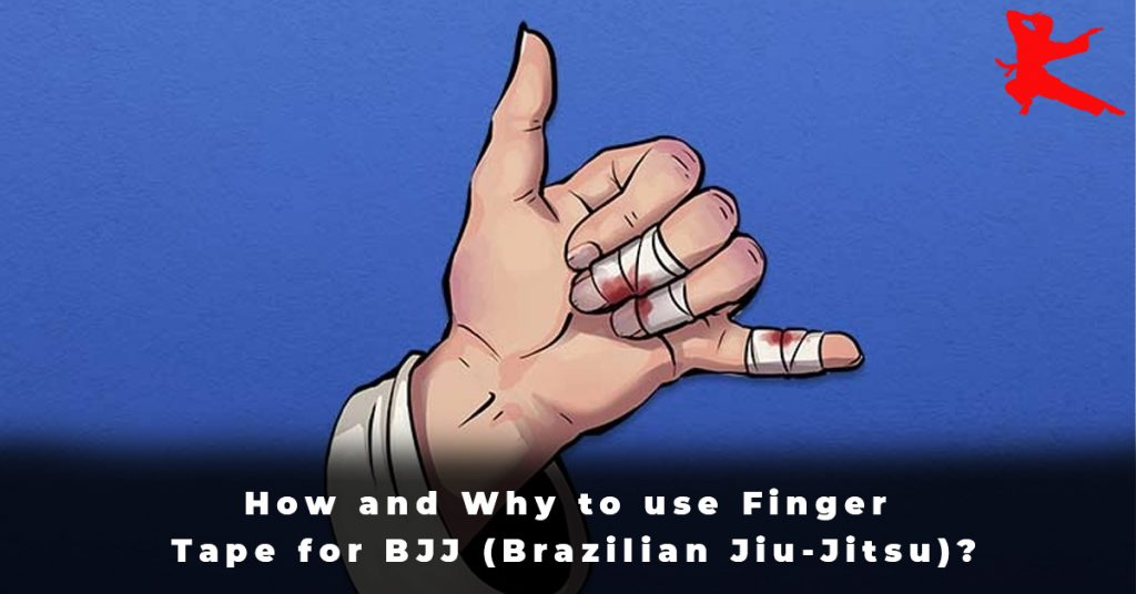 How and Why to use Finger Tape for BJJ (Brazilian Jiu-Jitsu)